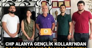CHP Alanya Gençlik Kolları'ndan Başkan Çavuşoğlu'na destek