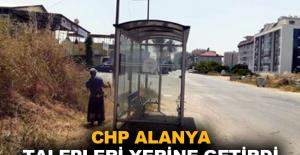 CHP Alanya talepleri yerine getirdi