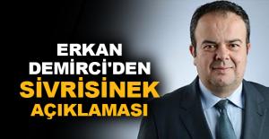 Erkan Demirci'den sivrisinek açıklaması