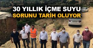 Gazipaşa Karasu Projesi hızla devam ediyor