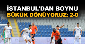 İstanbul'dan boynu bükük dönüyoruz: 2-0