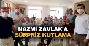 Nazmi Zavlak'a sürpriz kutlama