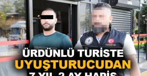 Ürdünlü turiste uyuşturucudan 7 yıl 2 ay hapis