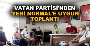 Vatan Partisi'nden 'Yeni Normal'e uygun toplantı