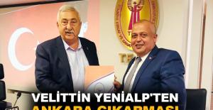 Velittin Yenialp'ten Ankara çıkarması