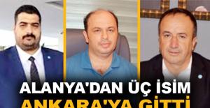 Apaydın, Er ve Arıkan Ankara'ya gitti