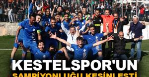 Kestelspor'un şampiyonluğu kesinleşti