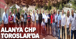 ALANYA CHP, TOROSLAR DA UNUTULMUŞ KÖY DE...