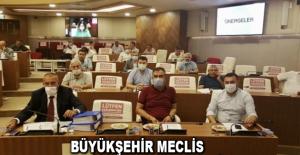 Büyükşehir Meclis toplantısı gerçekleşti