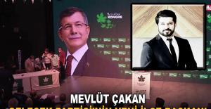 Mevlüt Çakan Gelecek Partisi'nin Yeni İlçe Başkanı