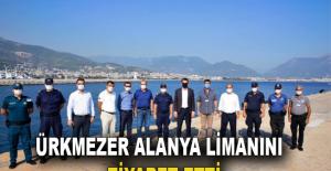 Ürkmezer, Alanya limanını ziyaret etti