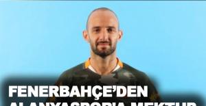 Fenerbahçe'den Alanyaspor'a mektup
