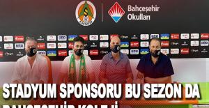 Stadyum sponsoru bu sezon da Bahçeşehir Koleji