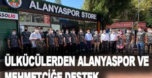 Ülkücülerden Alanyaspor ve Mehmetçiğe destek
