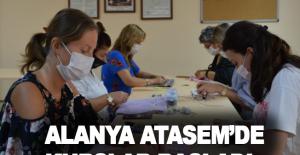 Alanya ATASEM'DE kurslar başladı