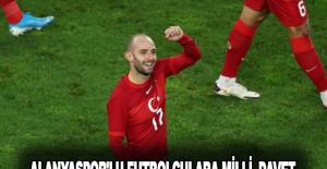 Alanyaspor'lu Futbolculara milli davet