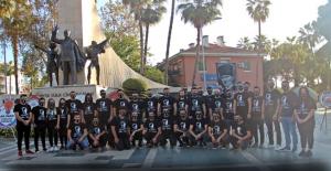 CHP Gençliğin den gurur verici anma töreni