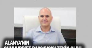 Alanya'nın Cumhuriyet Başsavcısı Tekin oldu