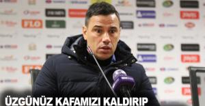 Çağdaş Atan 3-1 mağlup oldukları Gaziantep maçını değerlendirdi