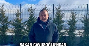 Bakan Çavuşoğlu'ndan kıskandıran fotoğraf