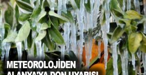 Meteorolojiden Alanya'ya don uyarısı