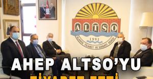 AHEP ALTSO'yu ziyaret etti