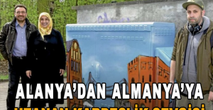 Alanya'dan Almanya'ya uzanan kardeşlik sevgisi