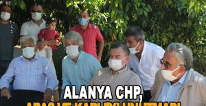 Alanya CHP, Aras ve Karlı'yı unutmadı