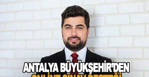Antalya BŞB'den Alanya'da öğrencilere online sınav desteği