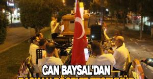 Can Baysal'dan Başkan Böcek'e teşekkür