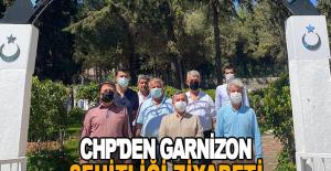 CHP'den Garnizon Şehitliği ziyareti