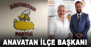 Alanya Anavatan İlçe Başkanı Murat Kurt oldu