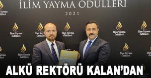 ALKÜ Rektörü Kalan'dan Alanya tanıtımı