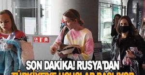 Son dakika! Rusya'dan Türkiye'ye uçuşlar başlıyor