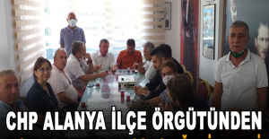 CHP Alanya İlçe Örgütünden Konyaaltı'na başsağlığı ziyareti