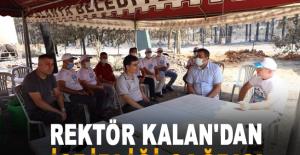 Rektör Kalan'dan işbirliği çağrısı
