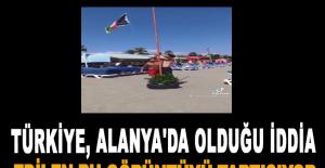 Türkiye, Alanya'da olduğu iddia edilen bu görüntüyü tartışıyor