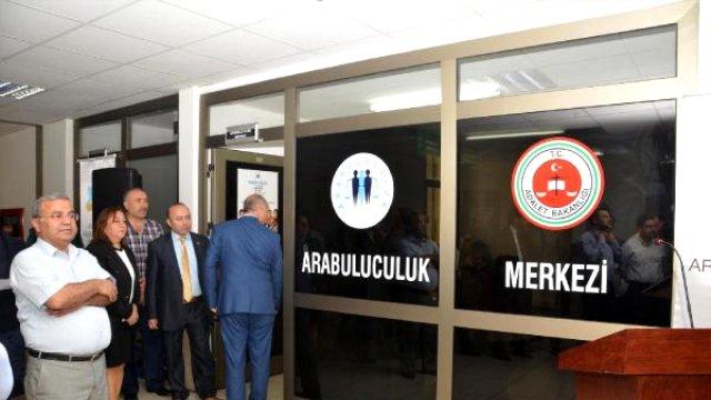 Antalya Adliyesi'nde Arabuluculuk Merkezi Açıldı