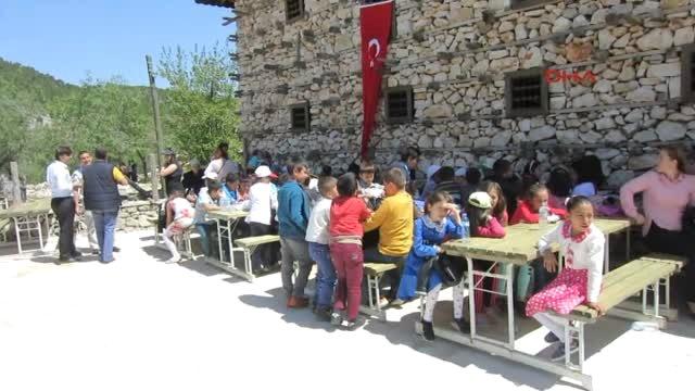 Antalya - Dünya Çocukları Toroslarda Dostluk İçin Buluştu