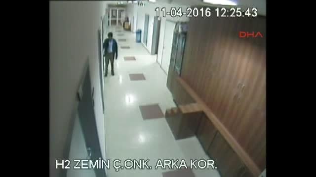 Antalya Hastane Hırsızı Yakalandı