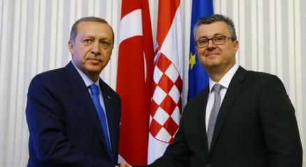 Erdoğan, Hırvatistan Başbakanı Oreşkoviç'le görüştü