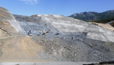 Gazipaşa Gökçeler Barajında Çalışmalar Devam Ediyor