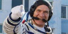 En Yaşlı Astronot Dünya'ya Döndü