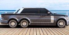 Range Rover 6x6 Tabanlı Modelle Geliyor Proje 2019 Sonunda Tamamlanacak