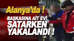 Alanya'da Dolandırıcı Yakalandı